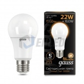 Gauss Лампа Gauss LED A70 22W E27 3000K
