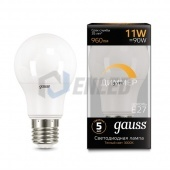 Gauss Лампа диммируемая Gauss LED A60-dim E27 11W 3000К