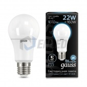 Gauss Лампа Gauss LED A70 22W E27 4100K