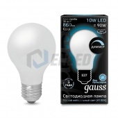 Gauss Лампа диммируемая Gauss LED Filament A60 OPAL dimmable E27 10W 4100К