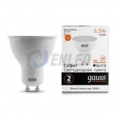 Gauss Gauss LED Elementary MR16 GU10 5.5W 2700К